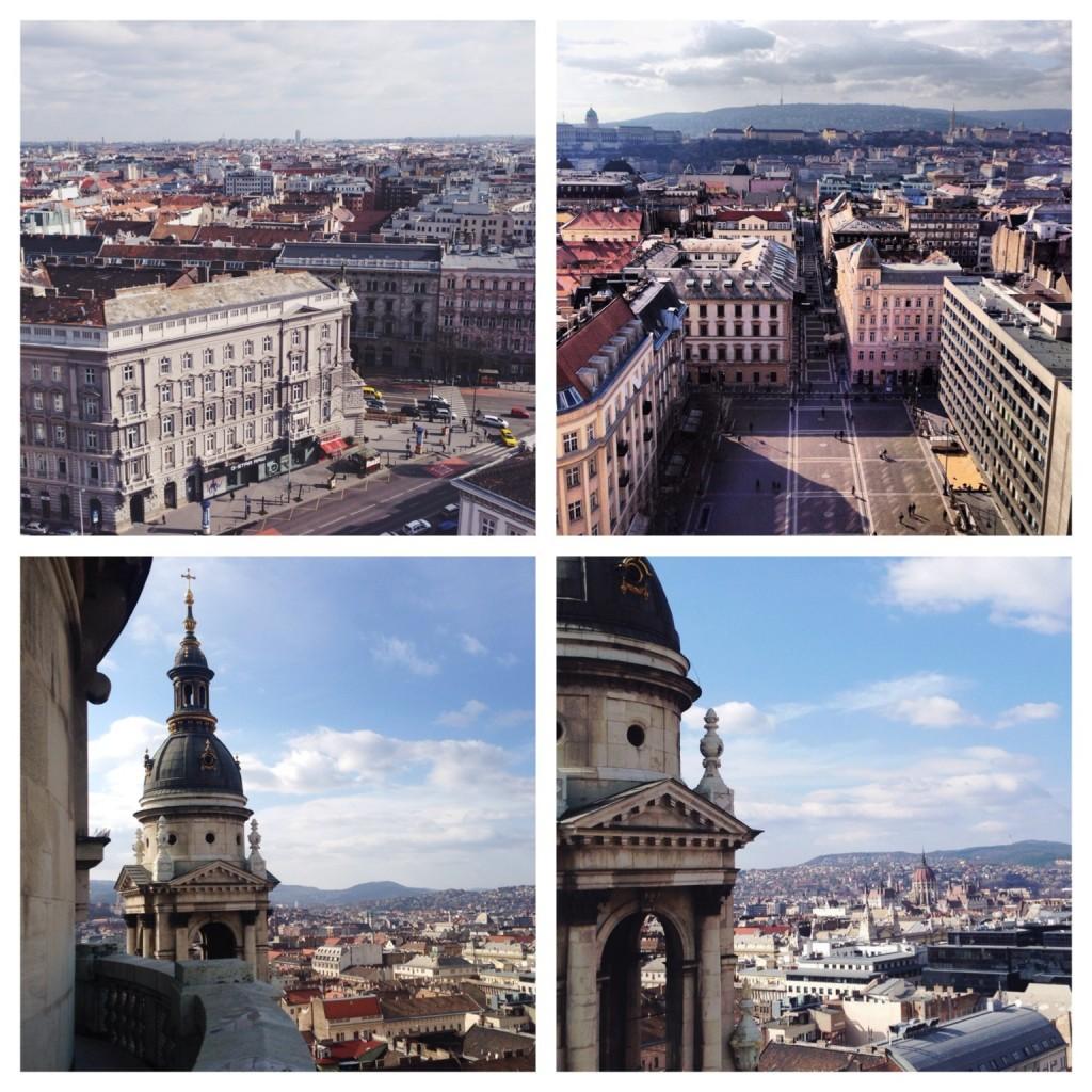 Budapest Aussicht von der Basilika