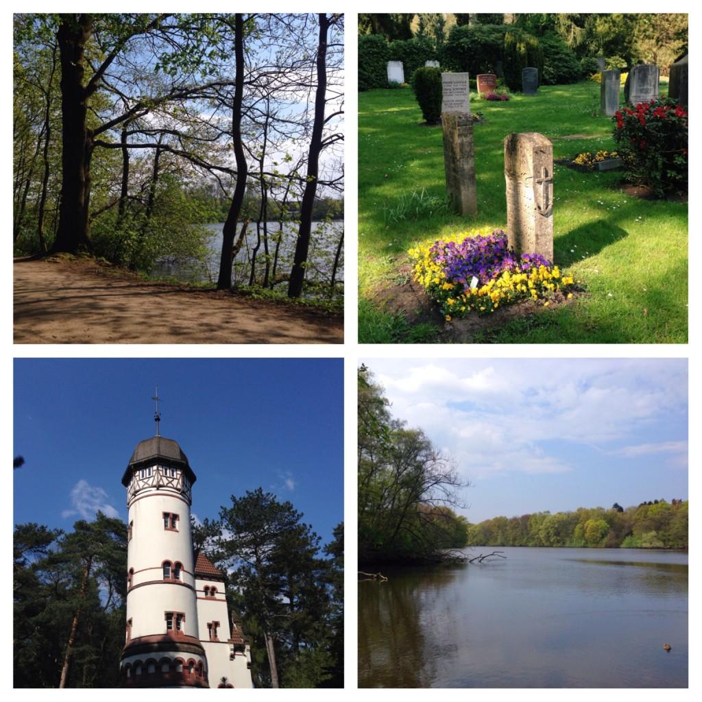 Bramfelder See und Friedhof Ohlsdorf