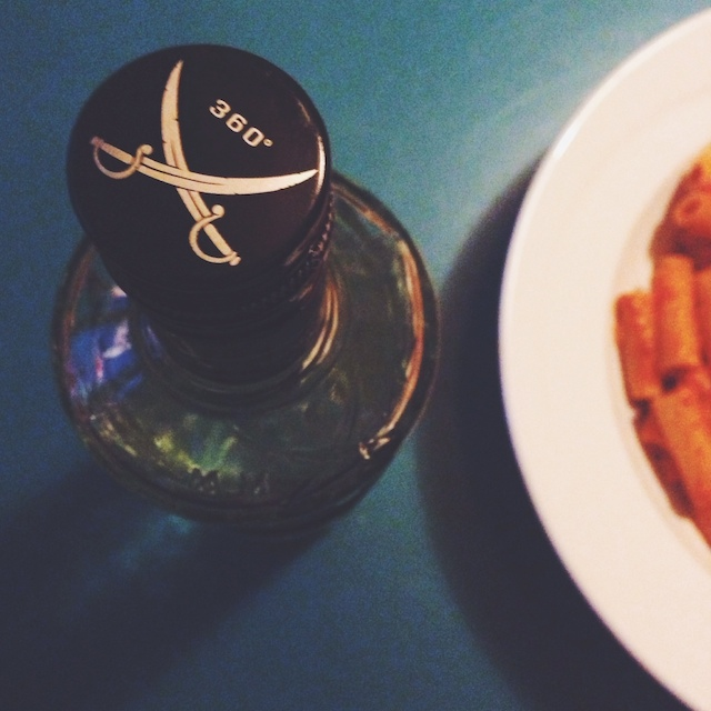 penne alla vodka arrabiata - vegan kochen mit Schnaps
