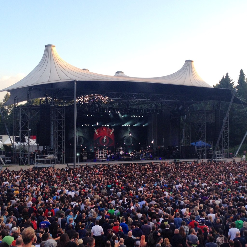 Pearl Jam Wuhlheide Berlin 26. Juni 2014