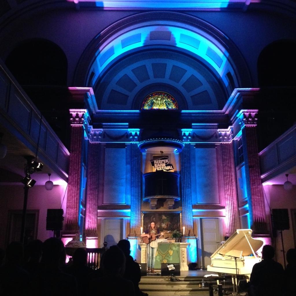 Eaves in der St. Pauli Kirche