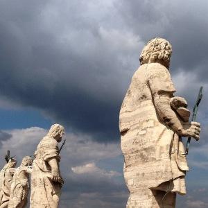 auf dem Petersdom