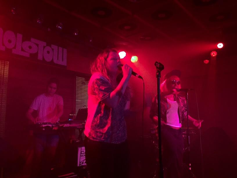 Kate Tempest und Band Molotow Hamburg