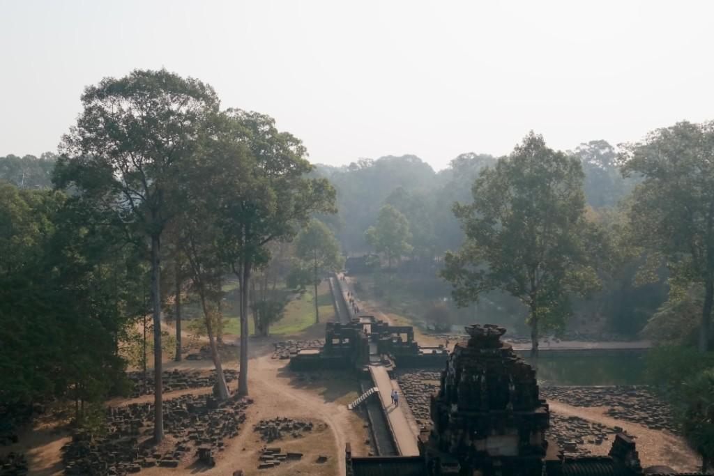 Angkor von oben