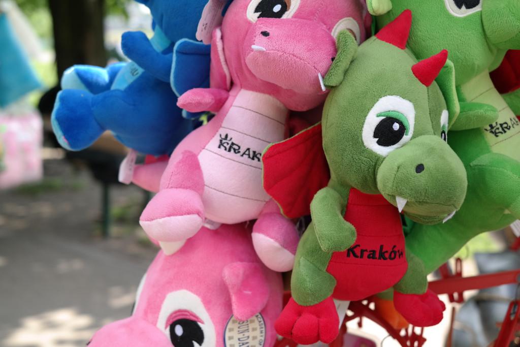 Drachen in Krakau