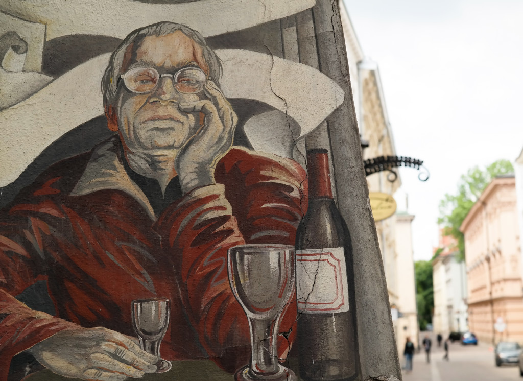 Wein kann man in Krakau natürlich auch trinken