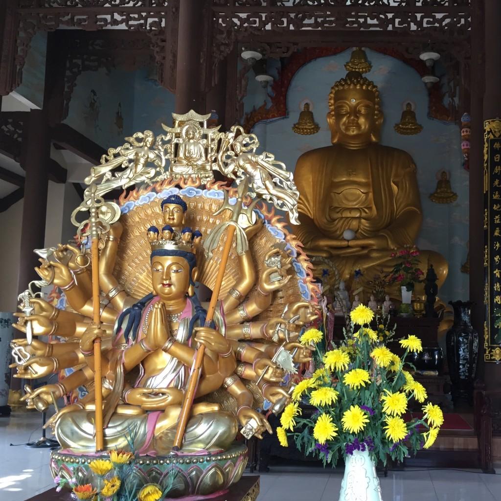 Immerhin noch ein paar Sehenswürdigkeiten in Da Nang mitgenommen