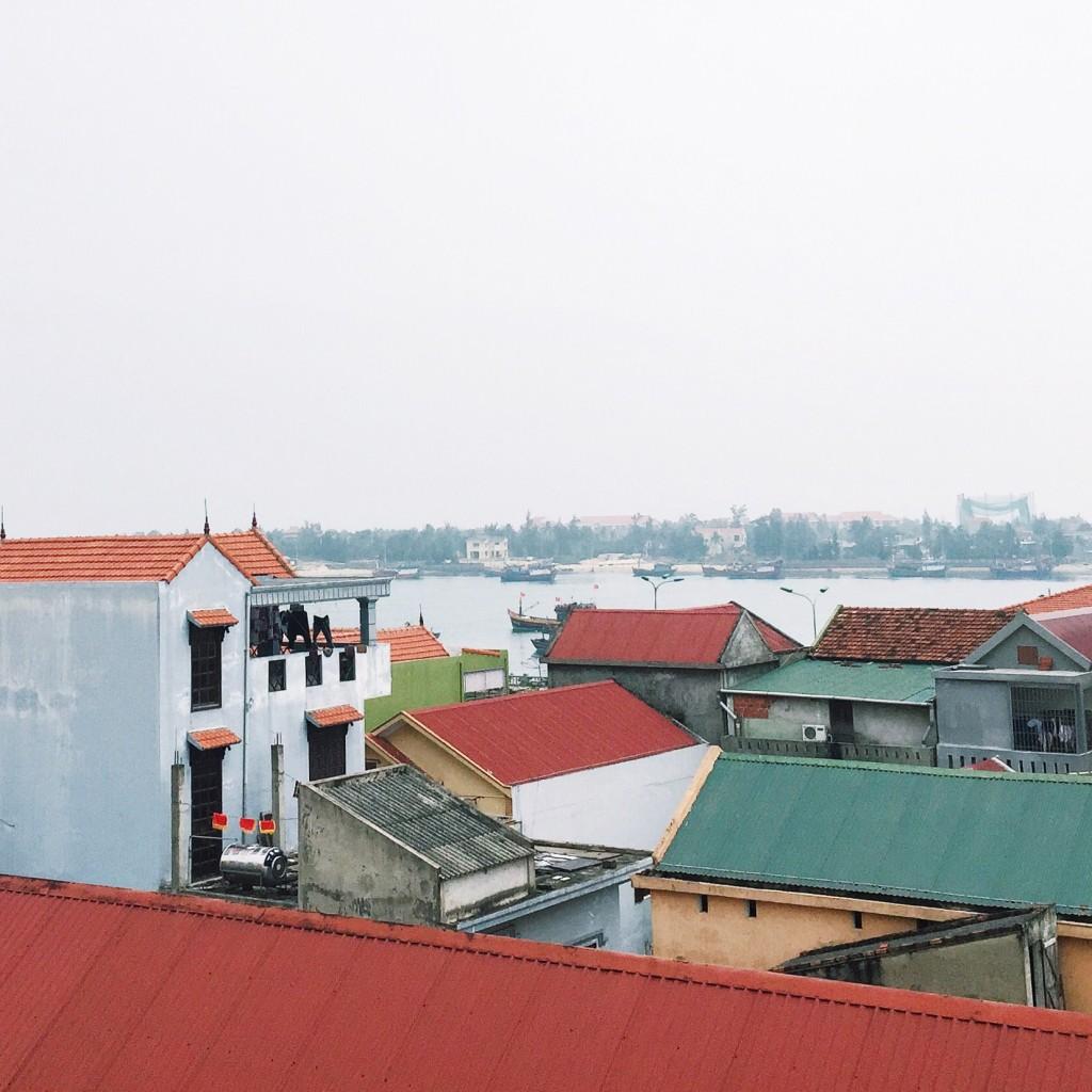 Über den Dächern von Dong Hoi