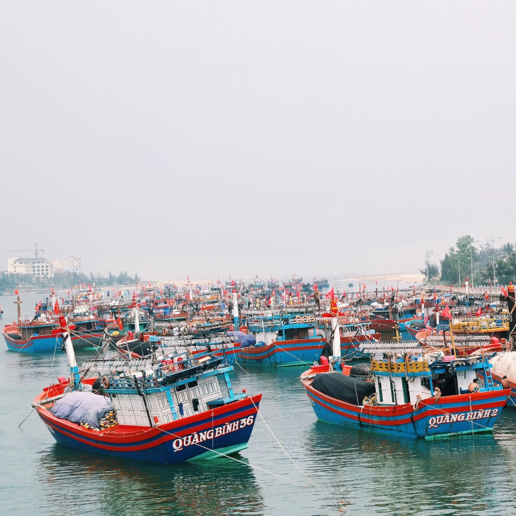 Alles voller Bötchen in Dong Hoi