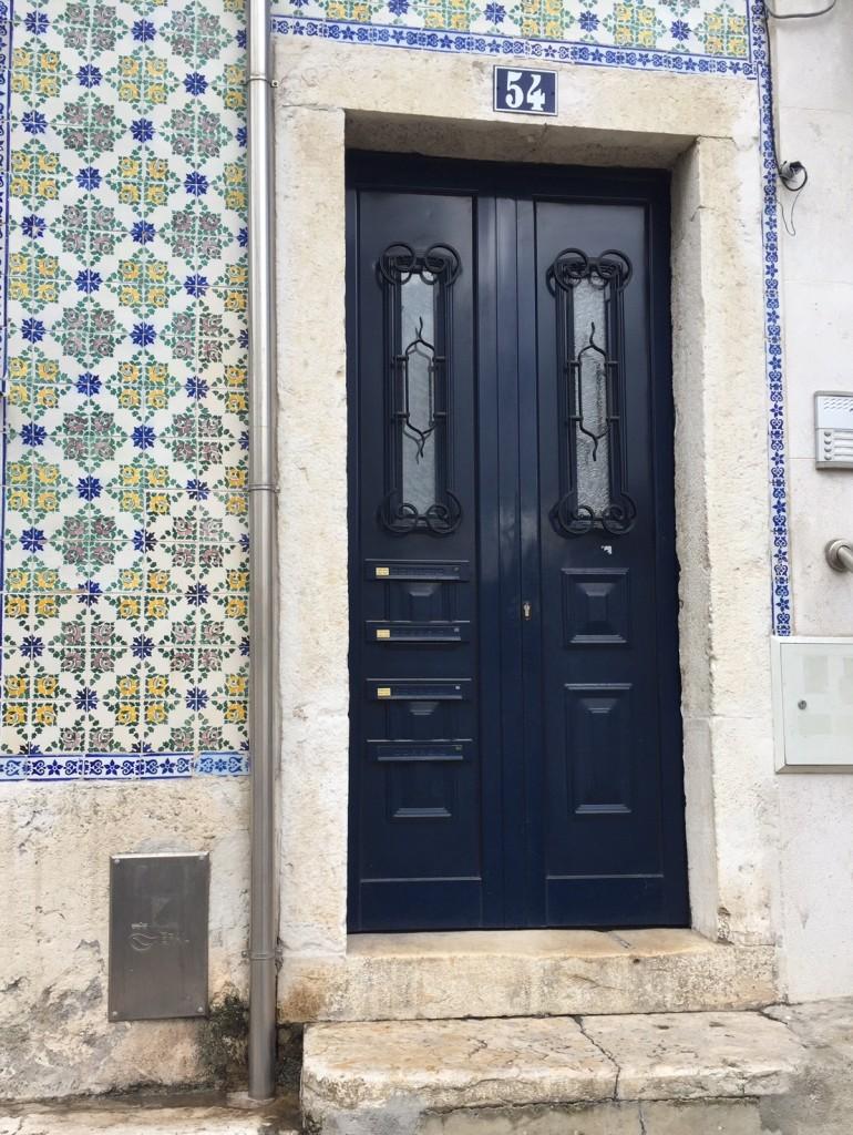 Azulejos in der Alfama