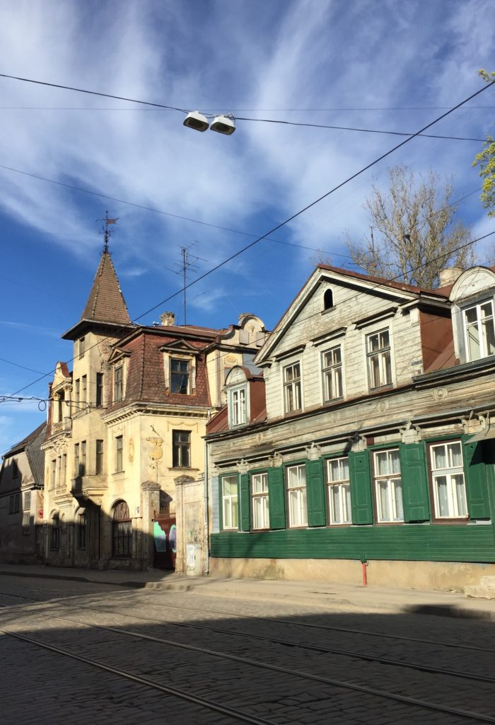Kurztrip nach Riga Miera iela